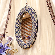 Oval Mirror case