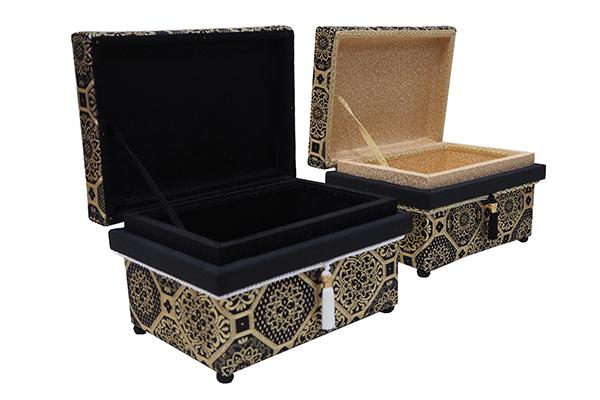 もりさん様 コラボ 雅錦 1KS型 茶箱の内側のデザインを変えています