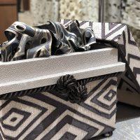 黒石デザイナーとコラボしたミニ茶箱