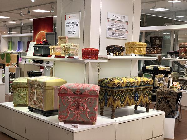 和物と洋物の茶箱たち