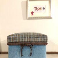 「大好きなツイードの茶箱」中にはBest of Rosiebearが入っています