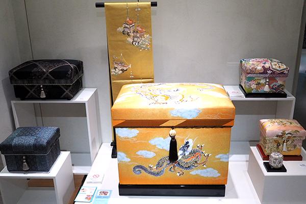 手書き京友禅「雲龍」40K型