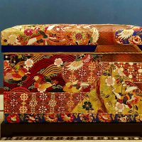 総手刺繍の相良刺繍打掛けの60K型