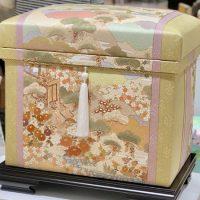 手描き京友禅作家 藤井寛先生 「古都の四季・都の四季」20K
