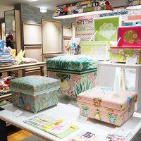 chabakoha*シリーズの茶箱を並べると、明るいデザインが揃ってとっても可愛いです。