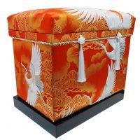 鶴の打掛 40K 和の華やかなデザインです。
