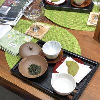 週末に開催された呈茶会です。川根の美味しいお茶でおもてなししました。