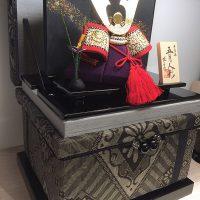 大島紬「龍郷」1Kに季節のお飾りをディスプレイ