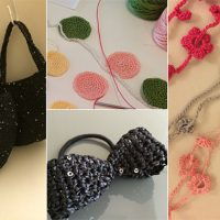 編み物の小物作品