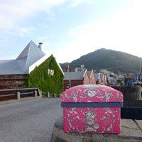 函館の風景と一緒にSTOFのトワルドジュイ
