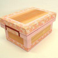 前田工房和紙茶箱 「桜」1KS