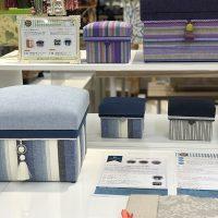 パッケージレッスンデザインサンプル ぬくもり工房「遠州綿紬」