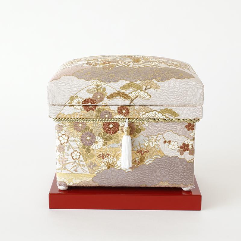 手描き京友禅 藤井寛「慶長山取幔幕図」鳩羽 1K